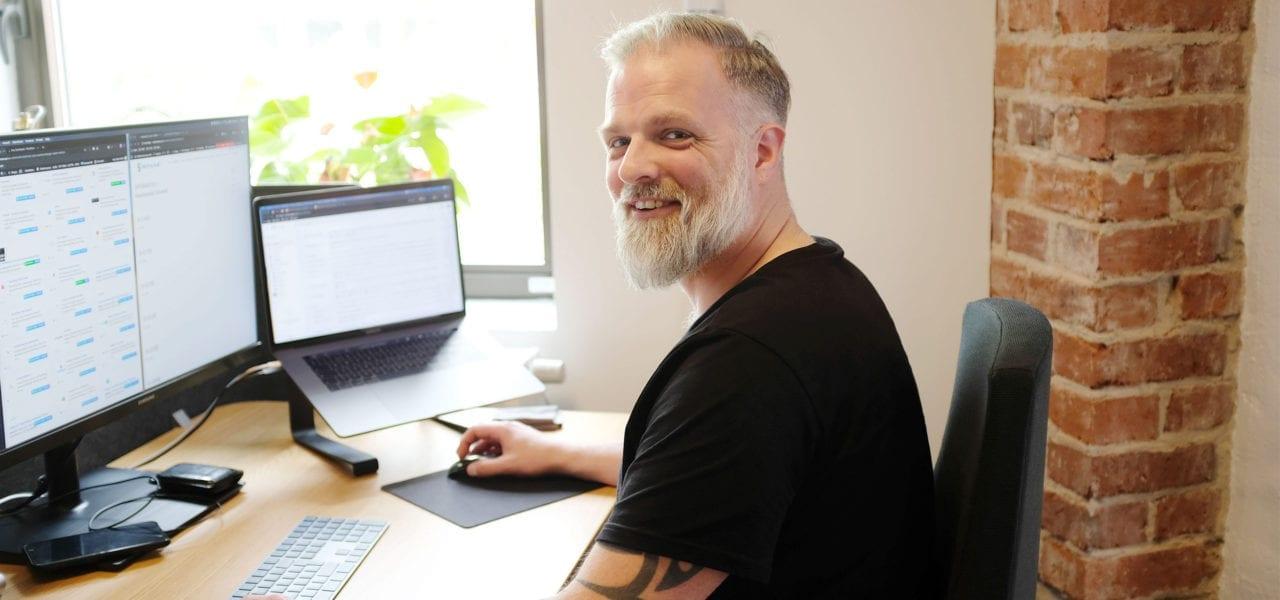 webbutveckling företag - tommy front end-utvecklare