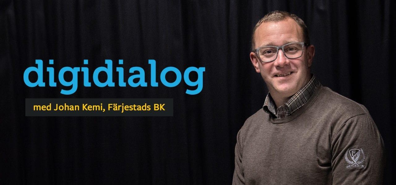 Johan Kemi om Färjestads digitalisering