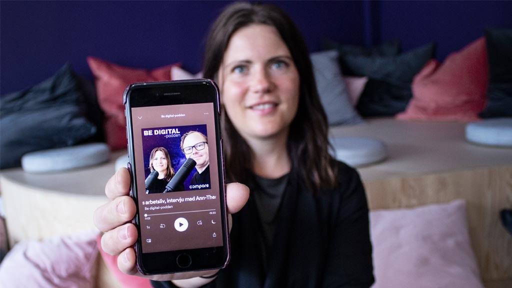Lise Bergqvist om digitalisering i coronatider