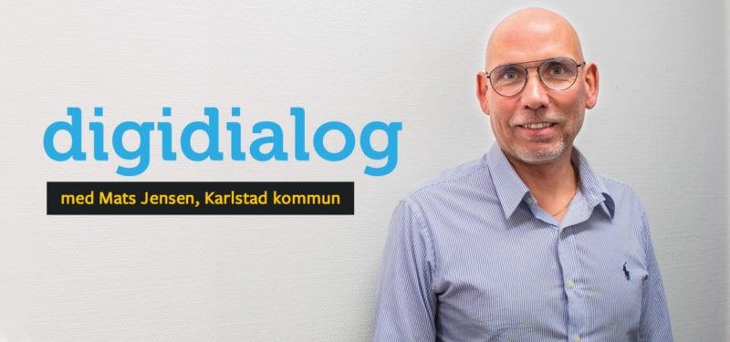 Mats Jensen om digitalisering inom offentlig sektor headerbild