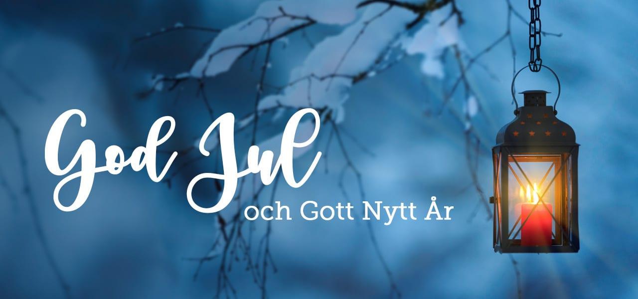 Vi önskar dig en God Jul & Gott Nytt År