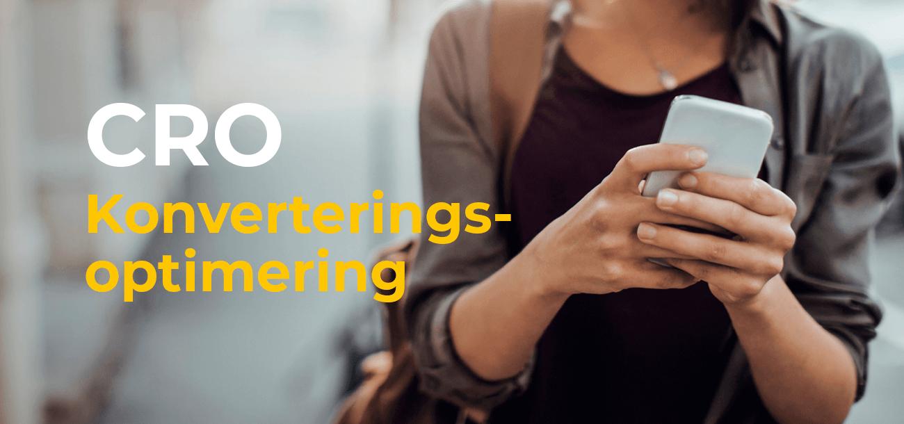CRO konverteringsoptimering_