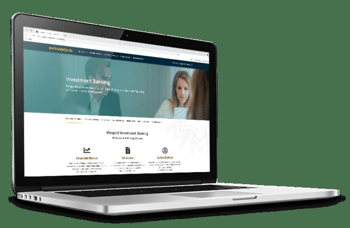 Decision By Heart Ny webbplats Mangold Fondkommission AB desktop